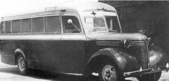 Санитарный автобус ЗиС-16C