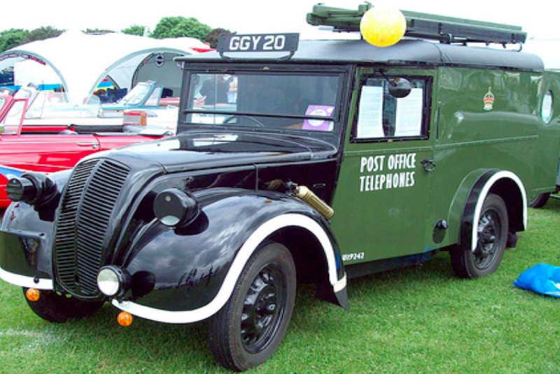 Фургон Morris 8 Series Z