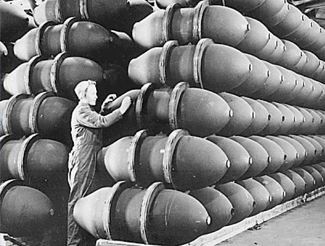 Фугасно-осколочная бомба AN-M-65