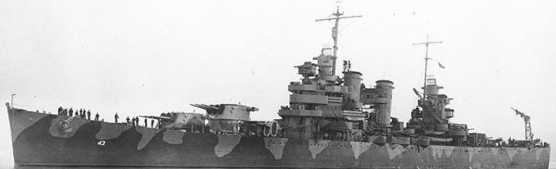 Легкий крейсер «Nashville» (CL-43)