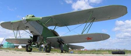 Легкий бомбардировщик Р-5Ш