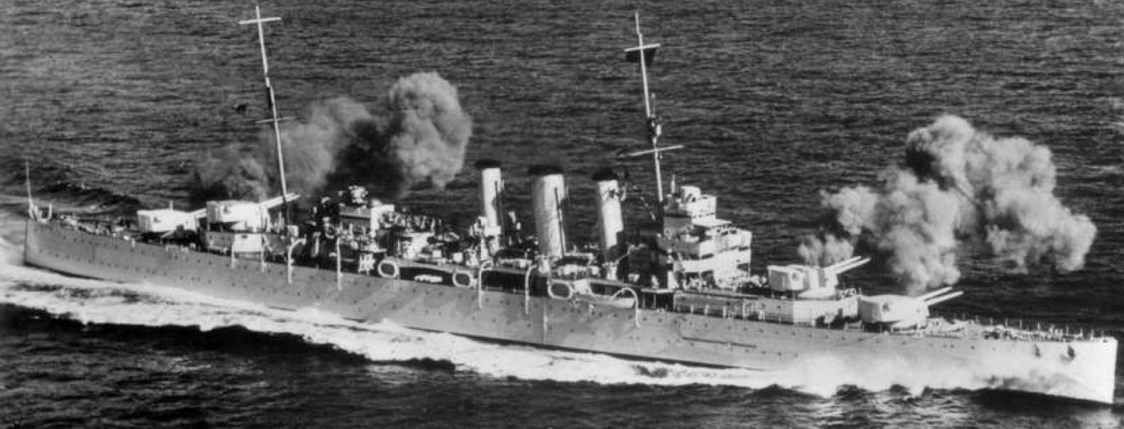 Тяжелый крейсер «Devonshire»