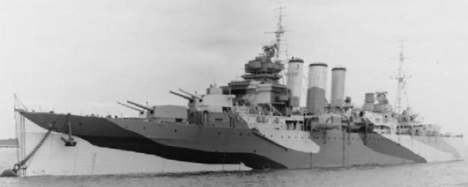 Тяжелый крейсер «Shropshire»