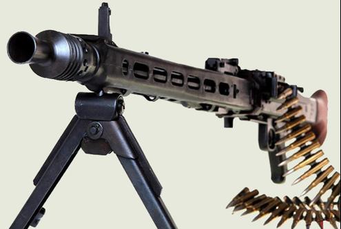 Пулемет MG-42 ручной вариант