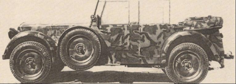 Автомобиль Bianchi S-6M (VM-6C)