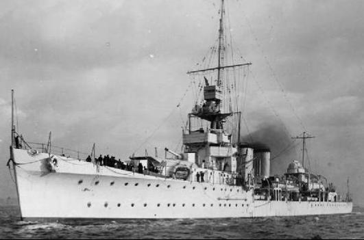 Легкий крейсер «Calcutta»