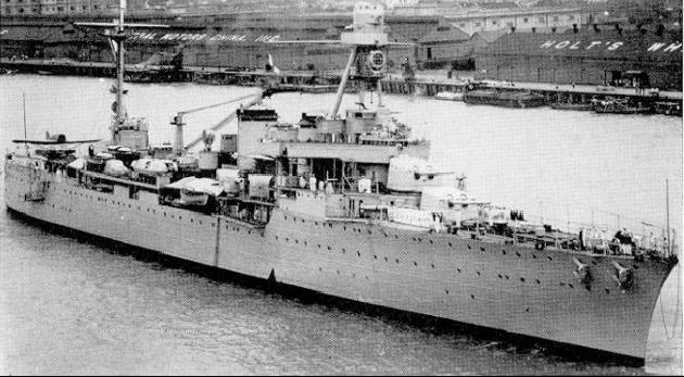 Легкий крейсер «Duguay-Trouin»