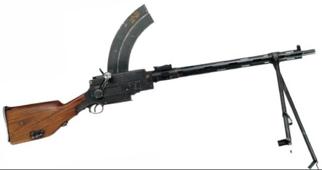 Ручной пулемет Madsen 1902/21