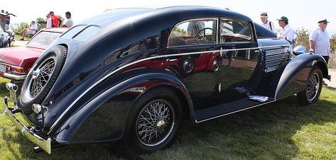 Автомобиль Austro-Daimler ADR-8 Alpine Sedan