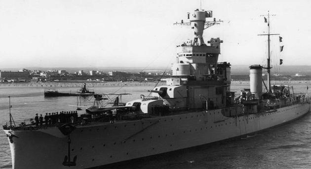 Тяжелый крейсер «Alberto di Giussano»