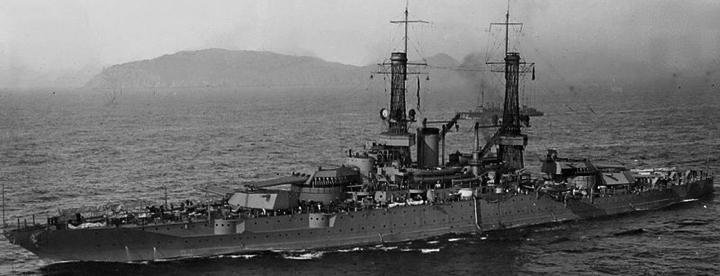 Линейный корабль «New Mexico» (ВВ-40)