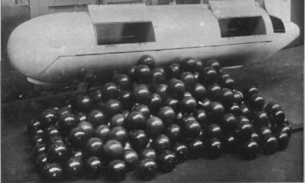 Контейнер АБК-П-500 с зажигательными ампулами АЖ-2К