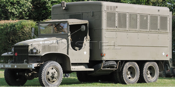 Фургон-мастерская на базе грузовика GMC CCKW 352/353