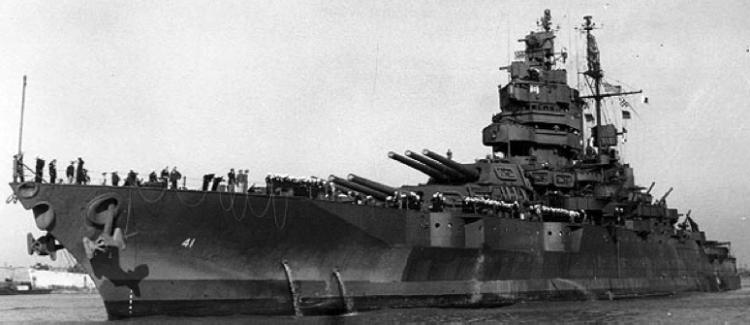 Линейный корабль «Mississippi» (ВВ-41)
