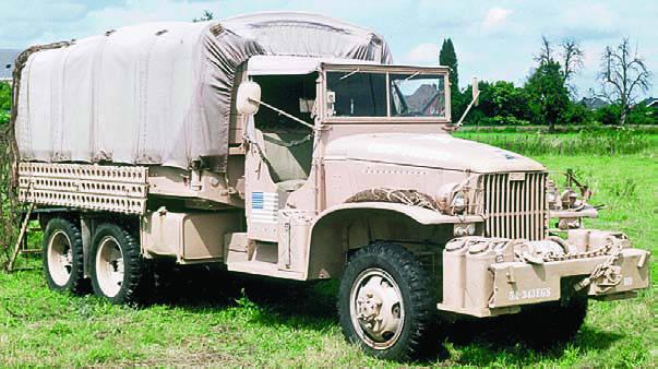 Тропический вариант грузовика GMC CCKW-352