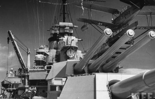 Линейный корабль «Idaxo» (ВВ-42)