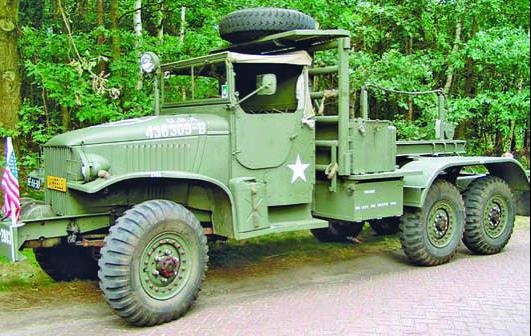 Тягач инженерных войск на базе GMC CCKW 352/353