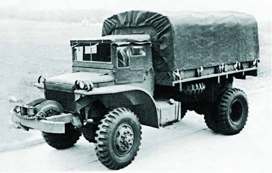 Бортовой грузовик GMC DAK