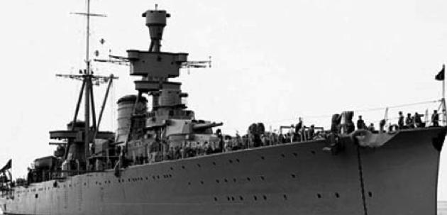 Легкий крейсер «Luiji Cadorna»