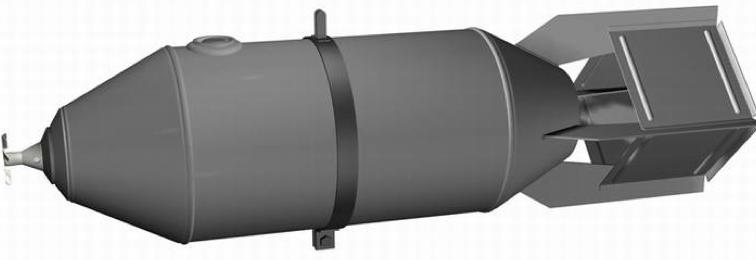 Рисунок дымовой бомбы ДАБ-100-80ф
