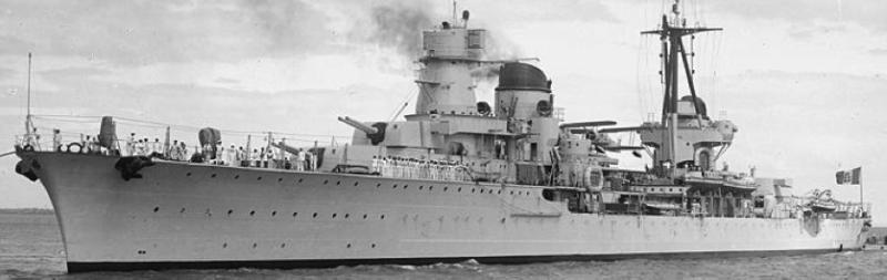 Легкий крейсер «Raimondo Montecuccoli»