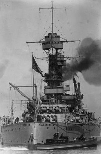 Линейный корабль «Tennessee» (ВВ-43)