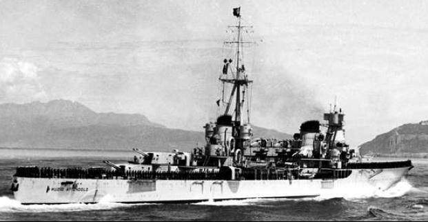 Легкий крейсер «Muzio Attendolo»