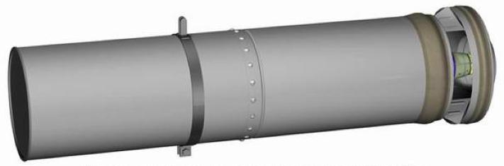 Рисунок осветительной бомбы САБ-100-55