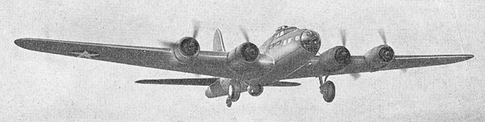 Бомбардировщик Boeing B-17F