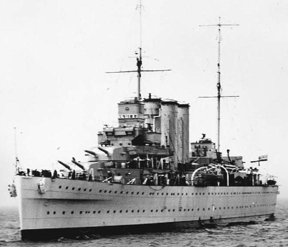 Тяжелый крейсер «Cornwall»