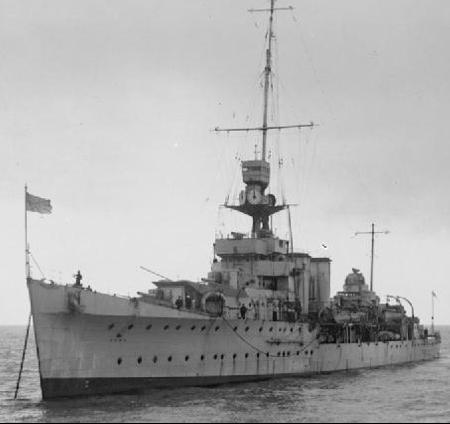 Легкий крейсер «Cairo»