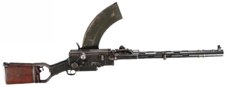 Ручной пулемет Madsen 1929