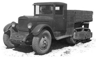 Полугусеничный грузовик ЗиС-22