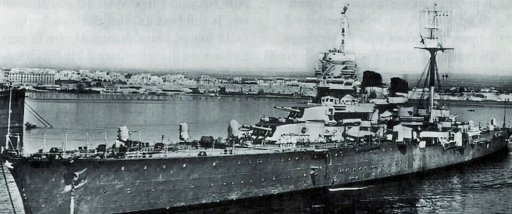 Легкий крейсер «Giuseppe Garibaldi»