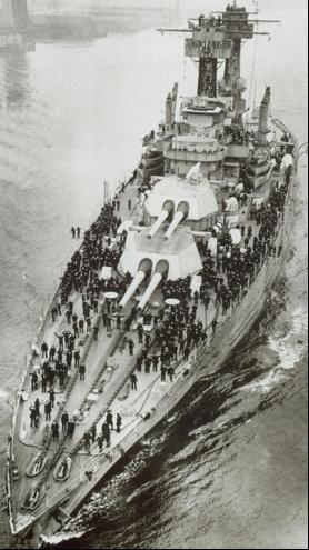 Линейный корабль «Maryland» (ВВ-46)