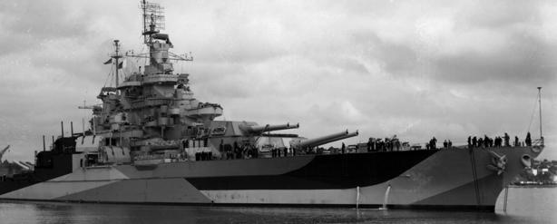 Линейный корабль «West Virgnia» (ВВ-48)