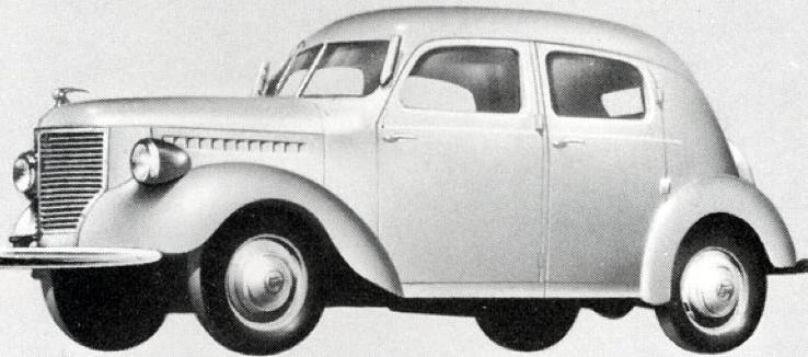 Седан Toyoda Model АЕ