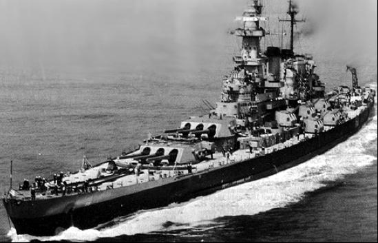 Линейный корабль «North Carolina» (ВВ-55)