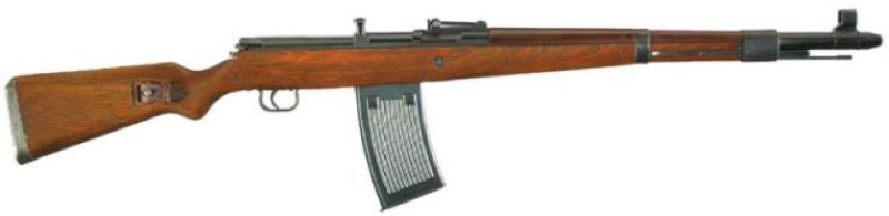 Винтовка G-41 (W) с 25-патронным магазином от пулемета MG-13