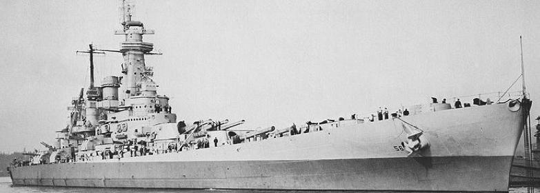 Линейный корабль «Wachington» (ВВ-56)