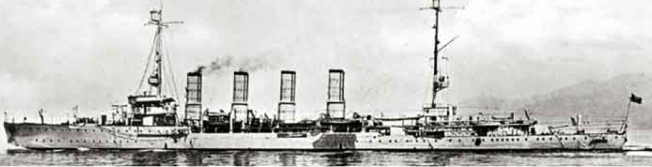 Легкий крейсер «Taranto» до модернизации