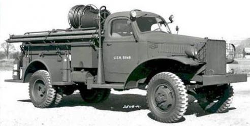 Пожарный автомобиль International Harvester