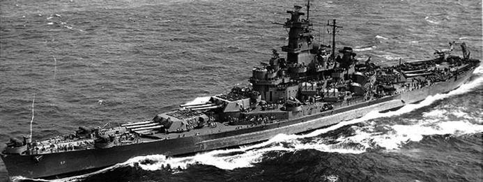 Линейный корабль «South Dakota» (ВВ-57)