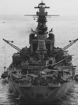 Линейный корабль «Indiana» (ВВ-58)