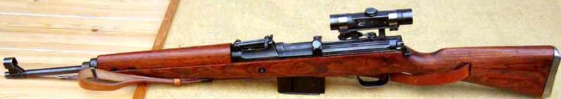 Снайперская винтовка с оптическим прицелом G-43 (W)