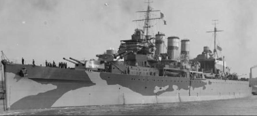 Тяжелый крейсер «Suffolk»