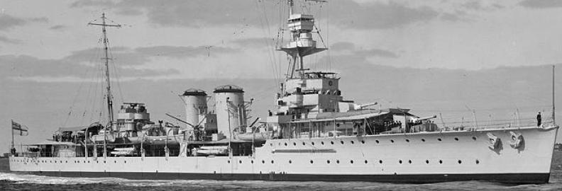 Легкий крейсер «Danae»