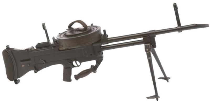 Ручной пулемет Vickers G.O. №2 Mk-1