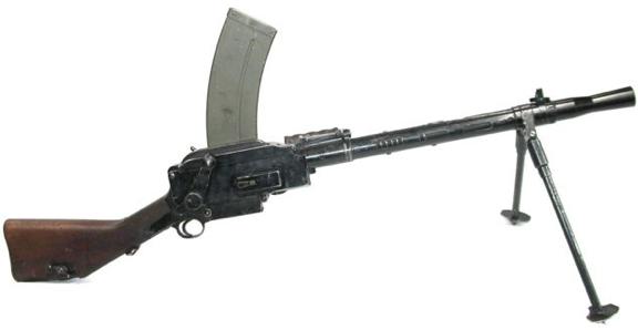 Ручной пулемет  Madsen 1940