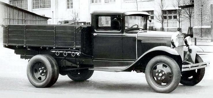 Газобаллонный автомобиль ЗиС-30